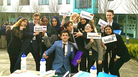 Woodhouse Model UN delegates hold sway in Birmingham
