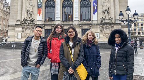 Students-eye view of Lille