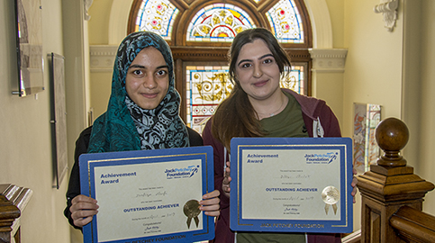 Medicine students get Jack Petchey award