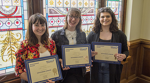 Musical producers win Jack Petchey Award - Again!