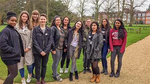 Oxbridge-curious students visit Newnham College, Cambridge