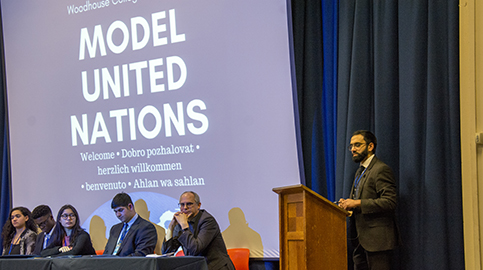 College hosts WHMUN19