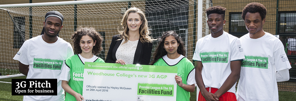 3G football pitch hailed at official opening