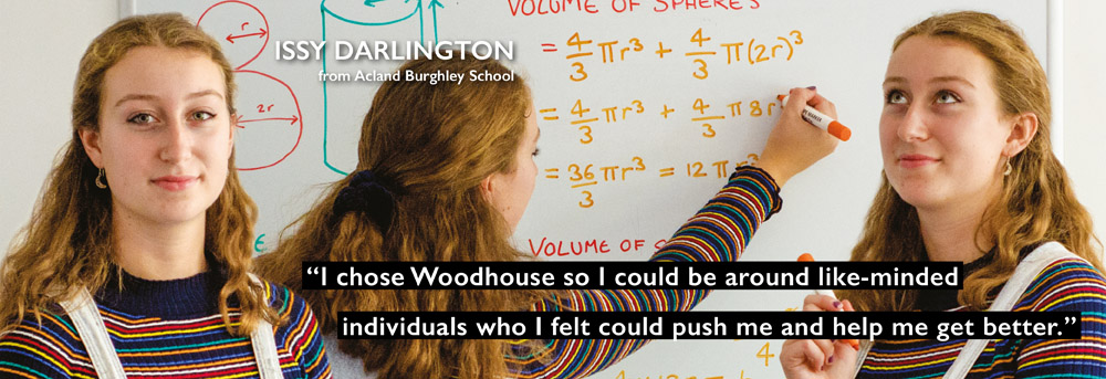 Further mathematics at Woodhouse